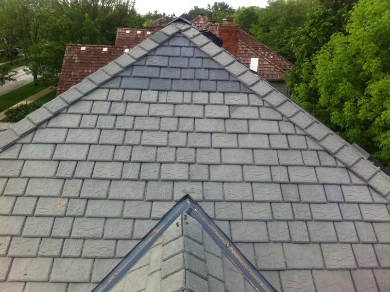Thiel Roofing Davinci Slate Repair